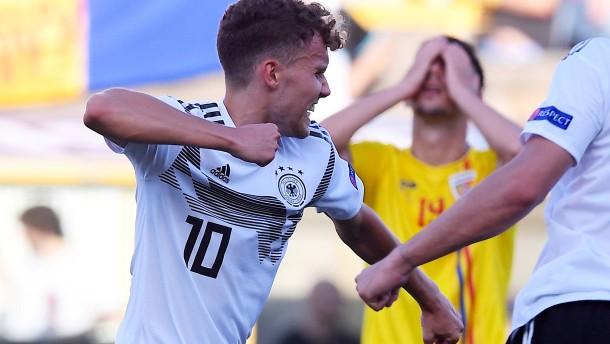 Verjüngungskurs im DFB-Team hält an
