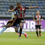Mehr Zweikämpfe wagen: Almamy Touré (rechts) im Spiel gegen Mönchengladbach im Duell mit Marcus Thuram.