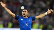 Leichtes Spiel für Frankreich