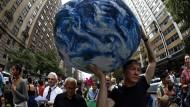 Weltweiter Protest für den Klimaschutz