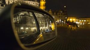 Stille in Dresden