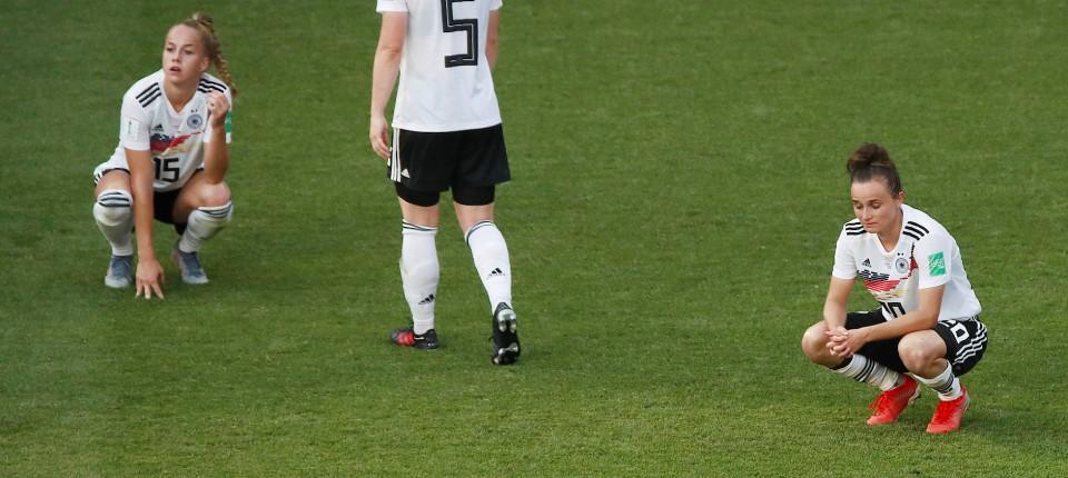 Enttauschung Nach Wm Aus Fur Deutsche Fussballfrauen