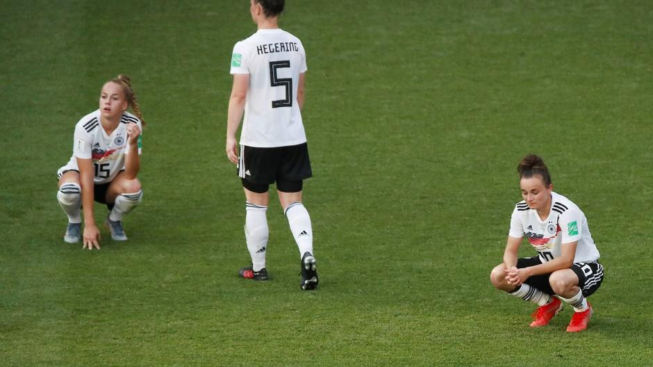 Für die deutschen Frauen ist die Fußball-WM beendet.