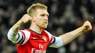 Im Finale: Arsenal-Abwehrchef Per Mertesacker