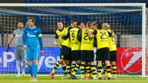 Dortmund auf dem Zenit europäischer Klasse