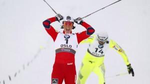 WM-Debakel für Wenzl - Björgen und Hellner siegen