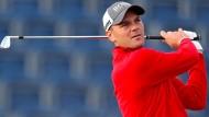 Hat das Ziel genau im Blick: Golfer Martin Kaymer will in Abu Dhabi zu einem erfolgreichen Saisonabschluss kommen.