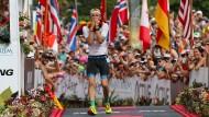 Patrick Lange beendete den Ironman als Dritter – und konnte es selbst kaum glauben