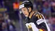 Will bei der WM mit Deutschland erfolgreich sein: NHL-Profi Dominik Kahun