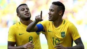 Brasilien brilliert nach Blitztor von Neymar