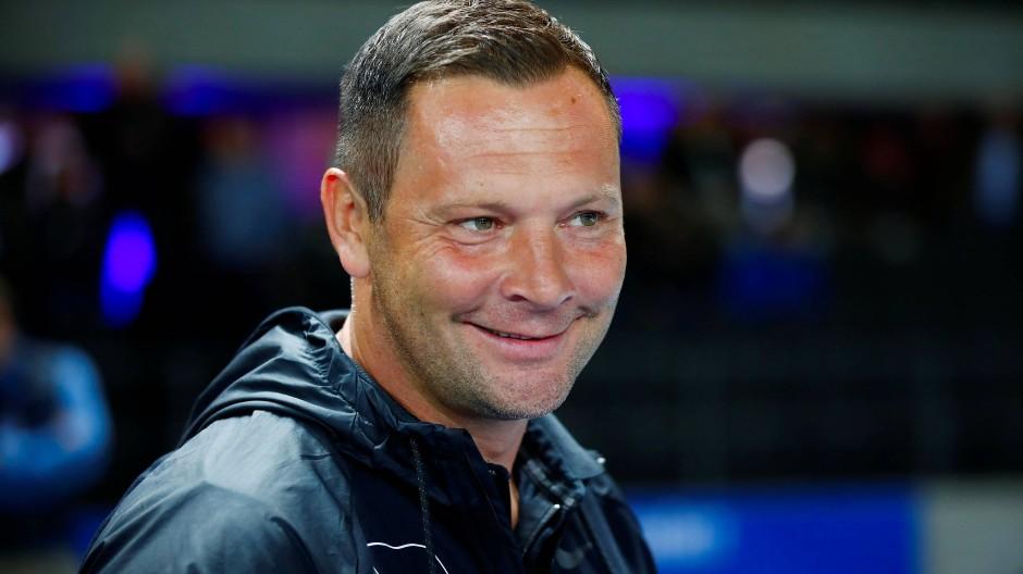 Wieder an der Seitenlinie der Berliner Bundesligamannschaft: Pal Dardai