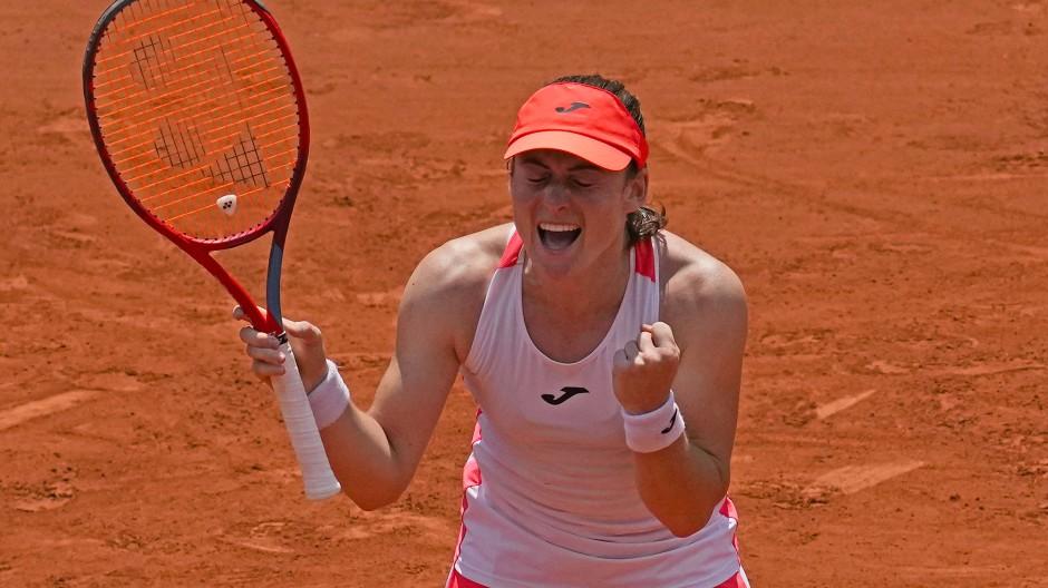 Kaum zu fassen: Tamara Zidanšek eilt bei den French Open von Sieg zu Sieg.