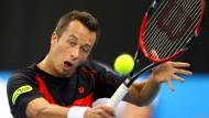 Philipp Kohlschreiber kehrt ins Davis-Cup-Team zurück – liegt derzeit aber erstmal flach