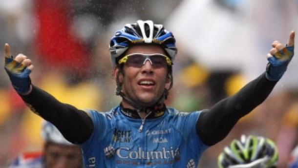 Cavendish gewinnt vor Ciolek