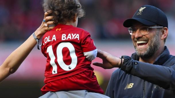 Beste Laune bei Klopp – Titel für Guardiola