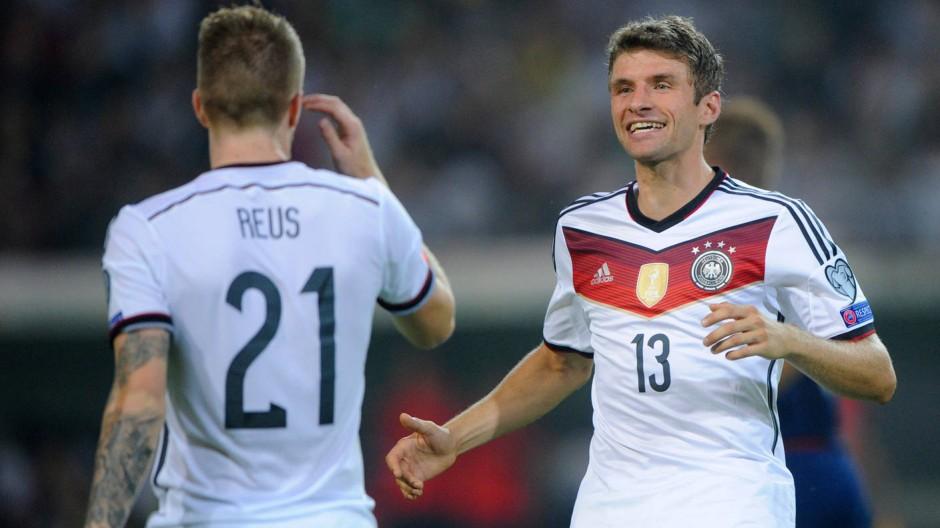 Strahlemann: Thomas Müller sichert die ersten drei Punkte in der EM-Qualifikation