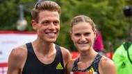 Philipp Pflieger und Rabea Schöneborn starten mit unterschiedlichen Zielen beim Marathon in Berlin.