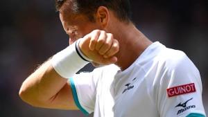 Ein schlimmer deutscher Start in Wimbledon
