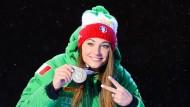 Italienisches Party-Girl mit Erfolg: Dorothea Wierer hat den gewissen Glamour-Faktor