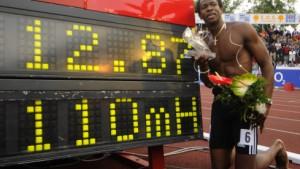 Kubaner Robles sprintet zu Weltrekord über 110-Meter-Hürden
