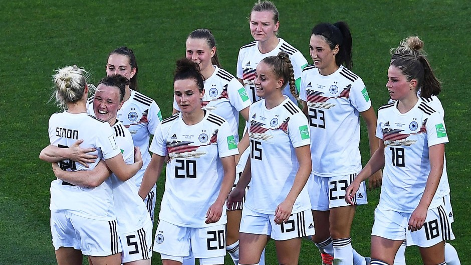 Die deutschen Fußballfrauen hatten ihren Spaß gegen Südafrika.
