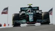 Für Sebastian Vettel ist grüne Technologie keine Frage der Autofarbe.