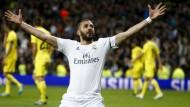 Warum Benzema unter Zidane aufblüht