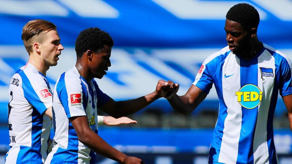 Schon wieder gewonnen: Hertha ist unter neuer Führung nicht wiederzuerkennen.