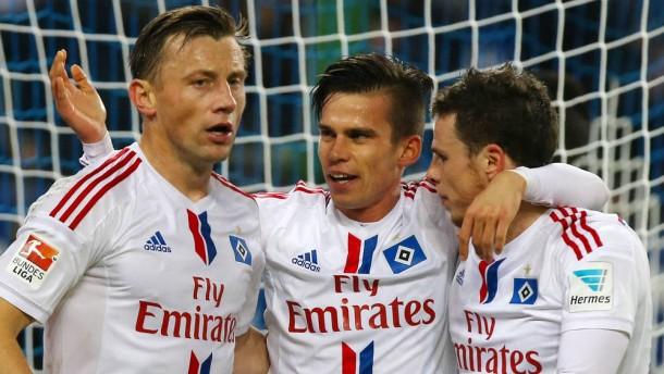 Der HSV zittert sich zum Sieg