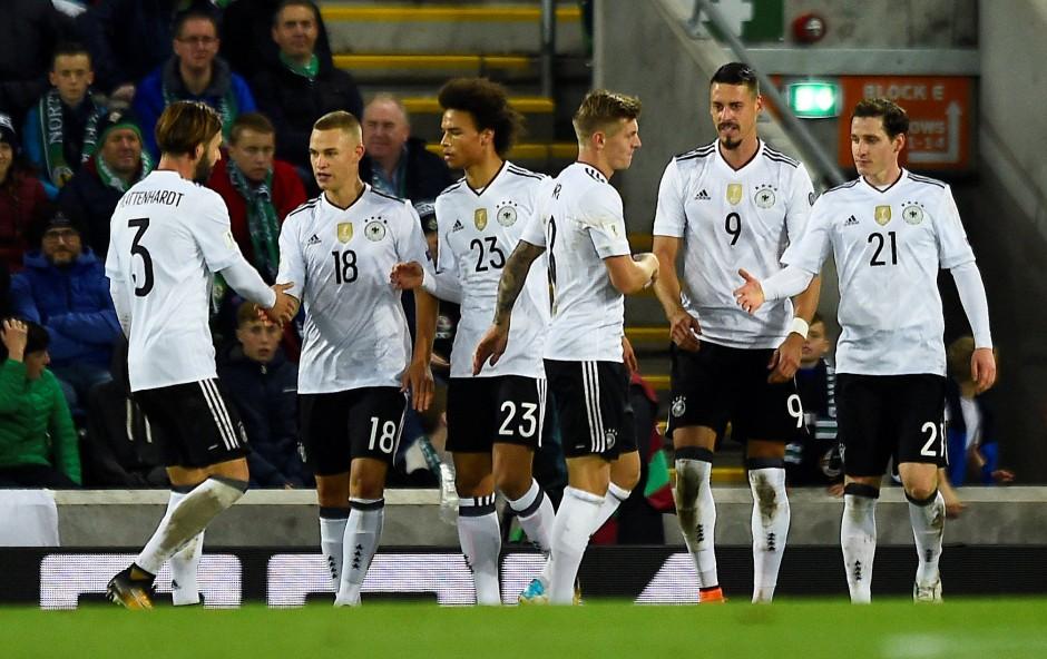 Standesgemäßer Sieg in Belfast: Deutschland gewinnt 3.1