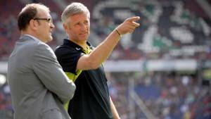 Andreas Bergmann bleibt Trainer