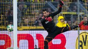 Pfiffe für Dortmund, Bürki reagiert gereizt