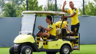 Aubameyang bleibt länger in Dortmund