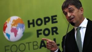Ich bin nicht Blatters Torpedo