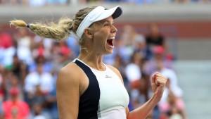 Caroline Wozniacki ist wieder da