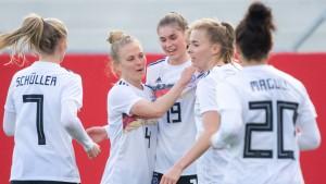 DFB-Frauen bezwingen Norwegen
