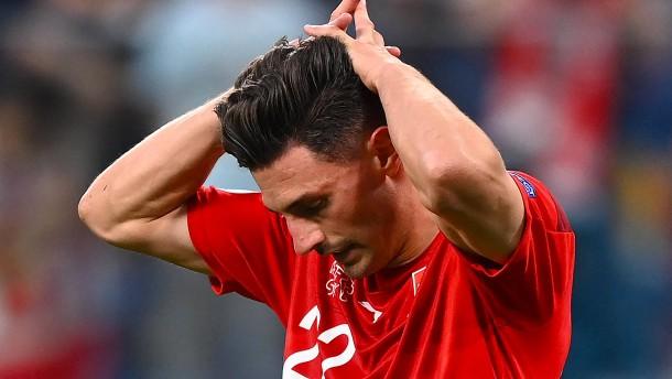 Schweizer Kraftakt gegen Spanien nicht belohnt