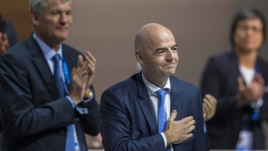 Infantinos Siegeszug zur Fifa-Präsidentschaft