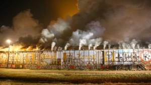 Clubhaus der Fans durch Brandstiftung zerstört