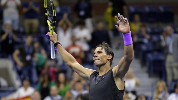 Nadal festigt seinen Favoritenstatus