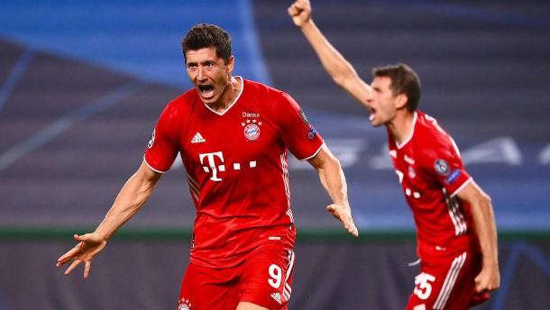 Der FC Bayern zieht ins Finale der Champions League ein