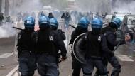 Italiens Klubs müssen für Sicherheit zahlen