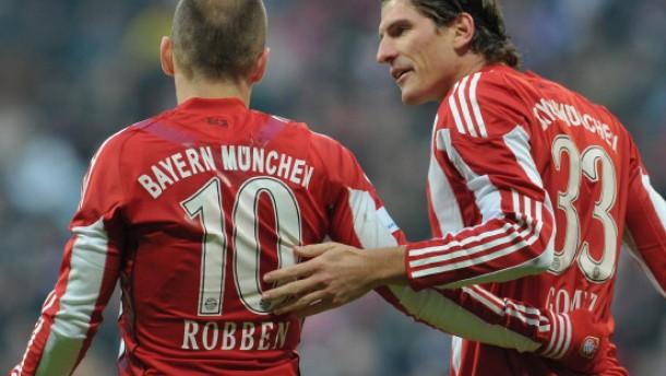 Bayern München holt auf