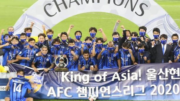Könige kommen aus Korea