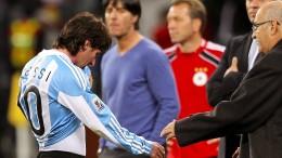 Löw und Neuer fanden Messi nicht so gut