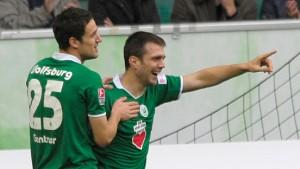 Wolfsburg lässt Arminia keine Chance