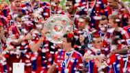 Für die Fans nichts Neues: Bayern München ist Deutscher Meister