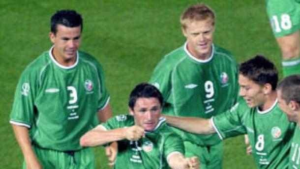 Irland zum dritten Mal im WM-Achtelfinale