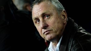 Johan Cruyff bedankt sich für Anteilnahme