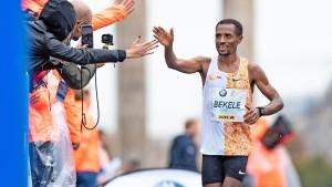 Vollgas beim Berlin-Marathon
